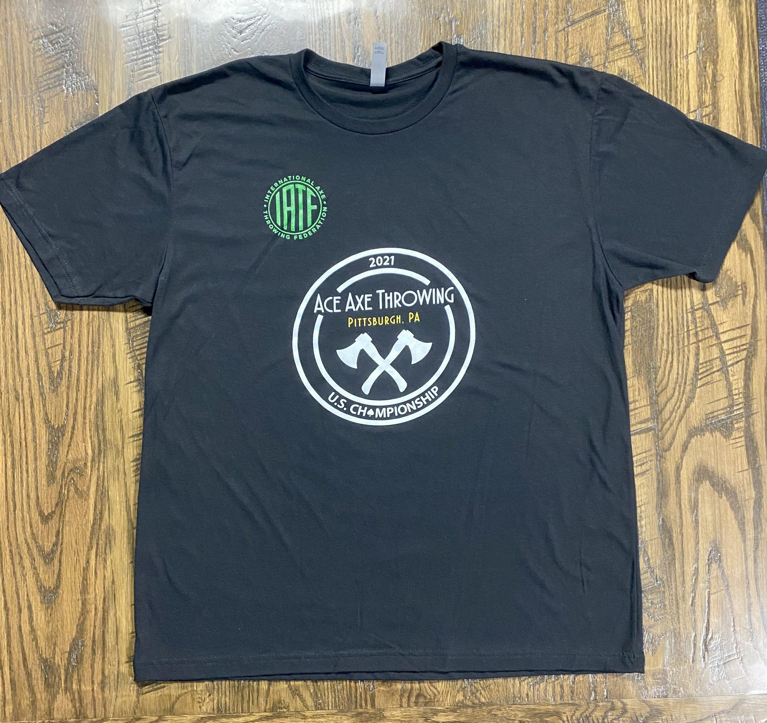 Ace Axe Throwing U.S. Championship T-Shirt